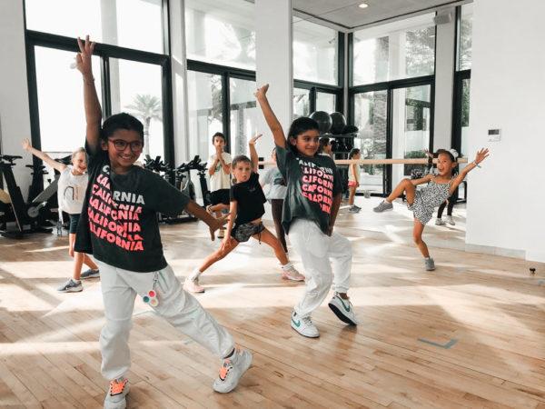 kids hip hop dance class saadiyat island abu dhabi uae